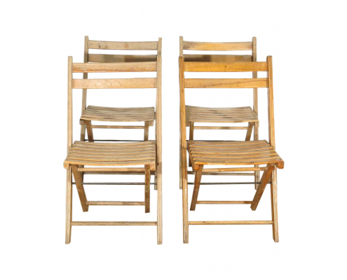 Wooden Folding Chairs for Hire London, South East