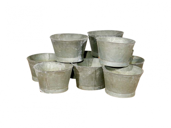 Galvanised Buckets for Hire