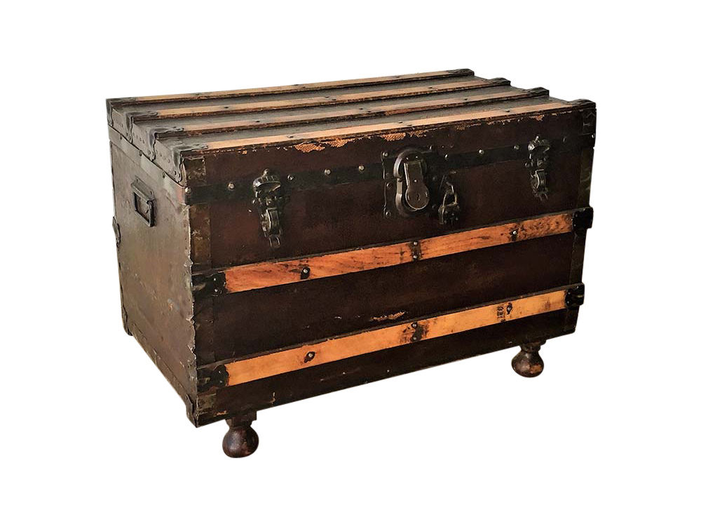 Vintage Wooden Trunk for Hire Scotland
