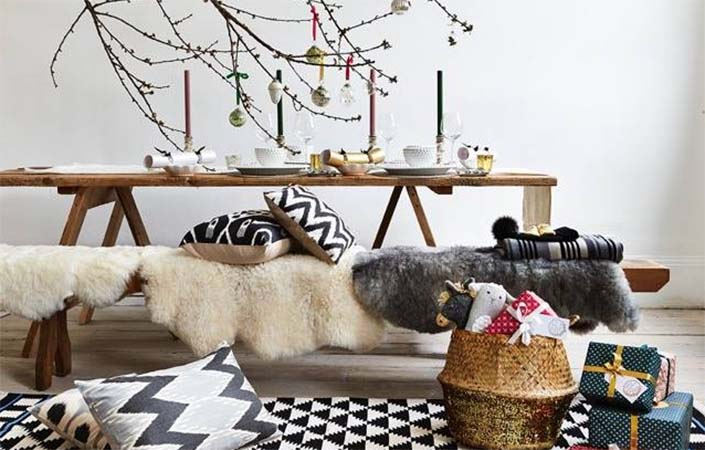 A Modern Rustic Photo Shoot Christmas With Cond 233 Nast