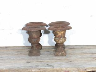 Vintage Rusty Urns for Hire