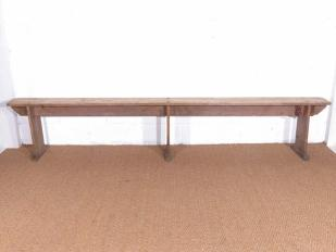 Rustic Wooden Bench for Hire London