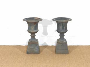 Cast Iron Vintage Urns for Hire