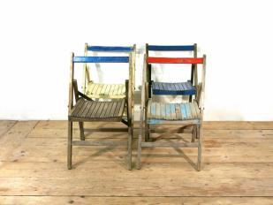 Vintage Distressed Chairs for Hire