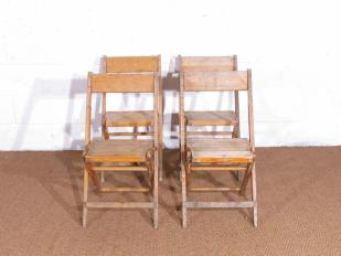 Wooding Folding Ceremony Chairs for Hire