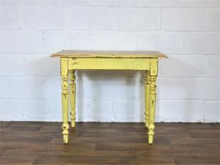 Rustic Painted Wooden Table Hire
