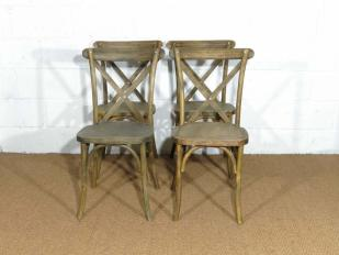 French Cross Back Chair for Hire