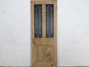 Old Wooden Door Blackboard for Hire