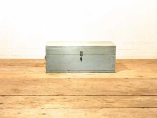 Blue Wooden Vintage Box for Hire