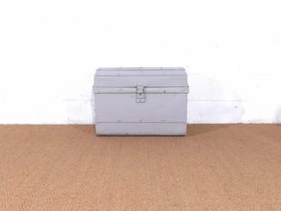 Vintage Grey Trunk for Hire