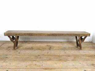 Vintage School Bench for Hire
