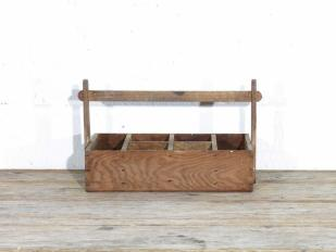 Small Wooden Tool Box for Hire