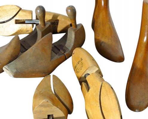 Vintage Shoe Lasts for Hire