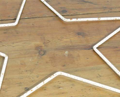 Distressed Metal Stars for Hire London, South East