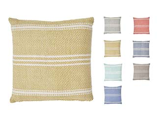 Vintage Striped Cushion for Hire