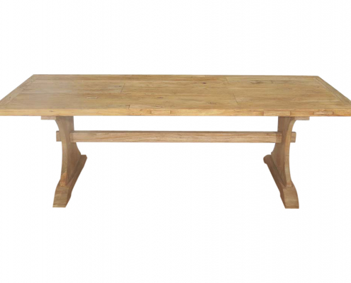 Vintage Refectory Table for Hire London