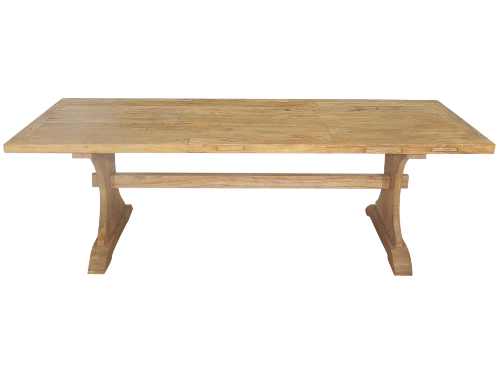 Vintage Refectory Table for Hire Devon