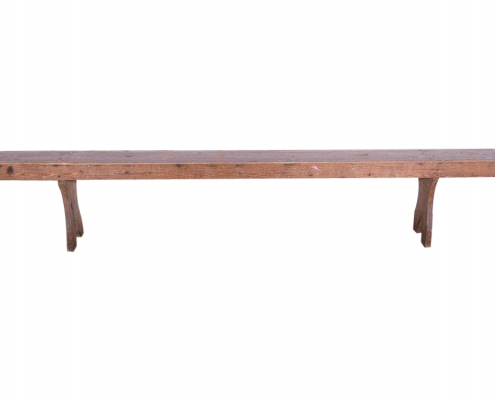 Rustic Wooden Bench for Hire