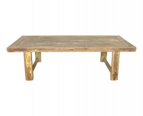 Low Wooden Table for Hire