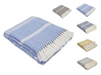 Vintage Striped Blanket for Hire