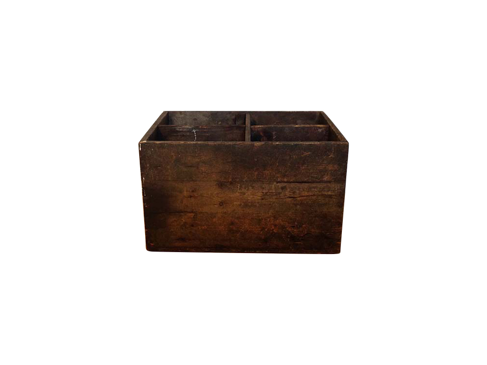 Vintage distressed wooden box Hire