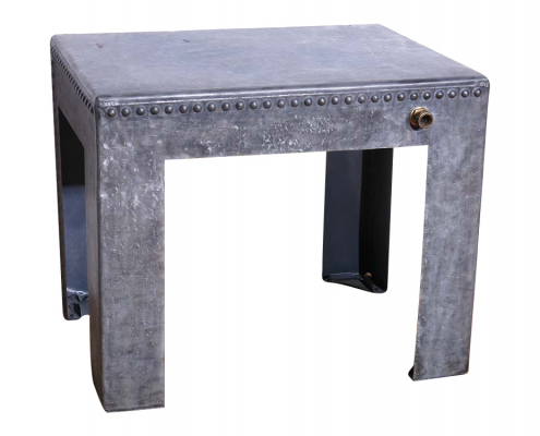 Industrial Metal Table for Hire