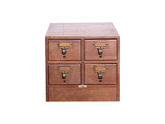 Vintage Wooden Drawers for Hire Devon