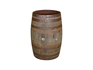 Vintage Oak Barrels for Hire