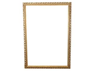Vintage Gold Frame for Hire Prop