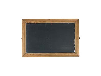 Rustic Wooden Framed Blackboard for Hire