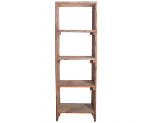 Wooden Rustic Shelving Unit for Hire