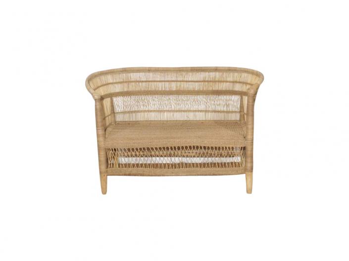 Rustic Cane Sofa for Hire Devon, South West
