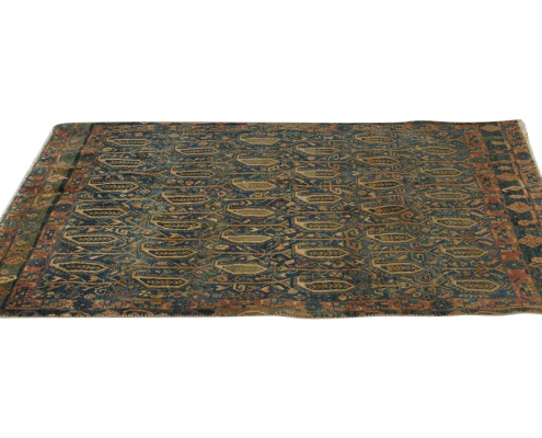 Rustic Wool Rug for Hire