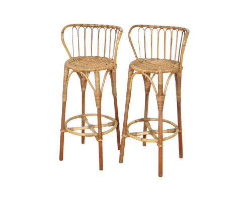 Bamboo Bar Stools for Hire