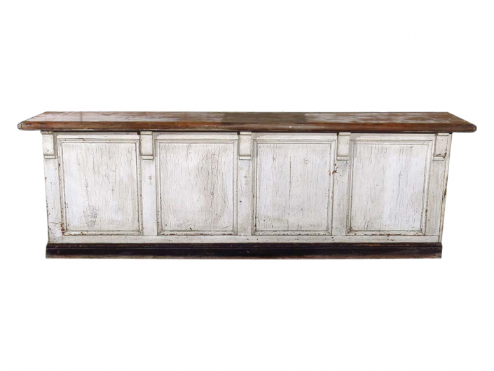 Distressed wooden bar for Hire
