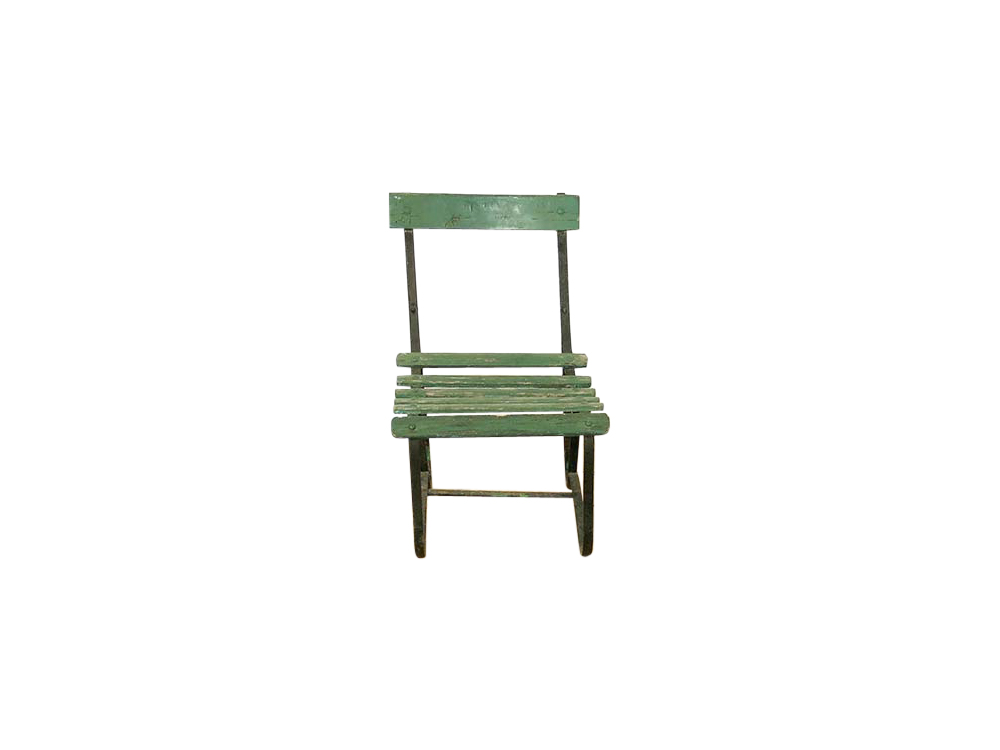 Green Garden Chair for Hire
