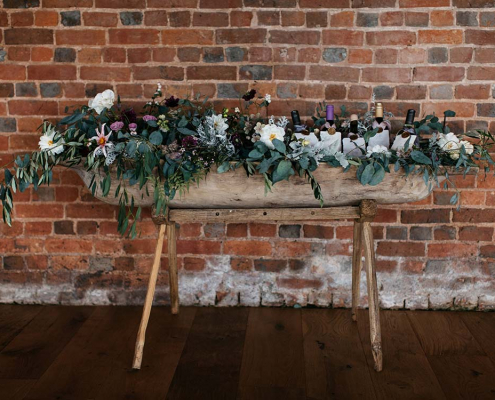Large Vintage Wooden Trough for Hire