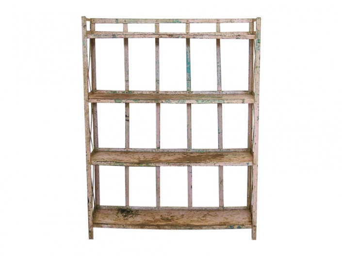Vintage Metal Shelves for Hire Scotland