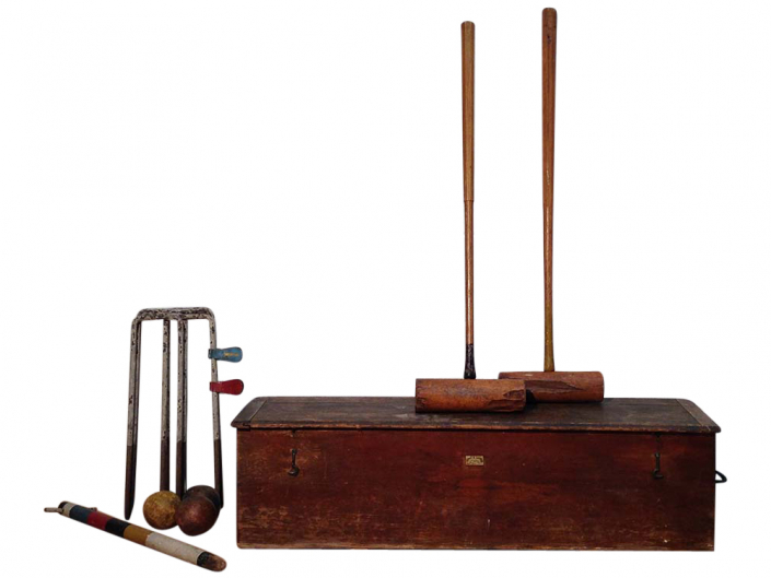 Vintage Croquet Set for Hire Scotland