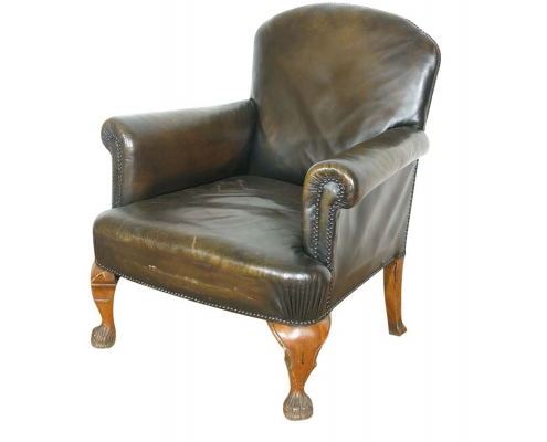 Vintage Leather Armchair For Hore