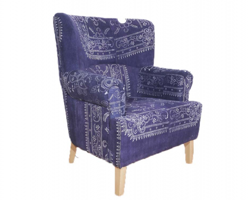 Upholstered Antique Chair for Hire