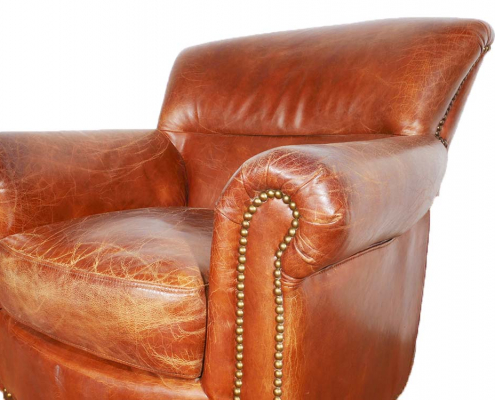 Classic Leather Club Armchair for Hire