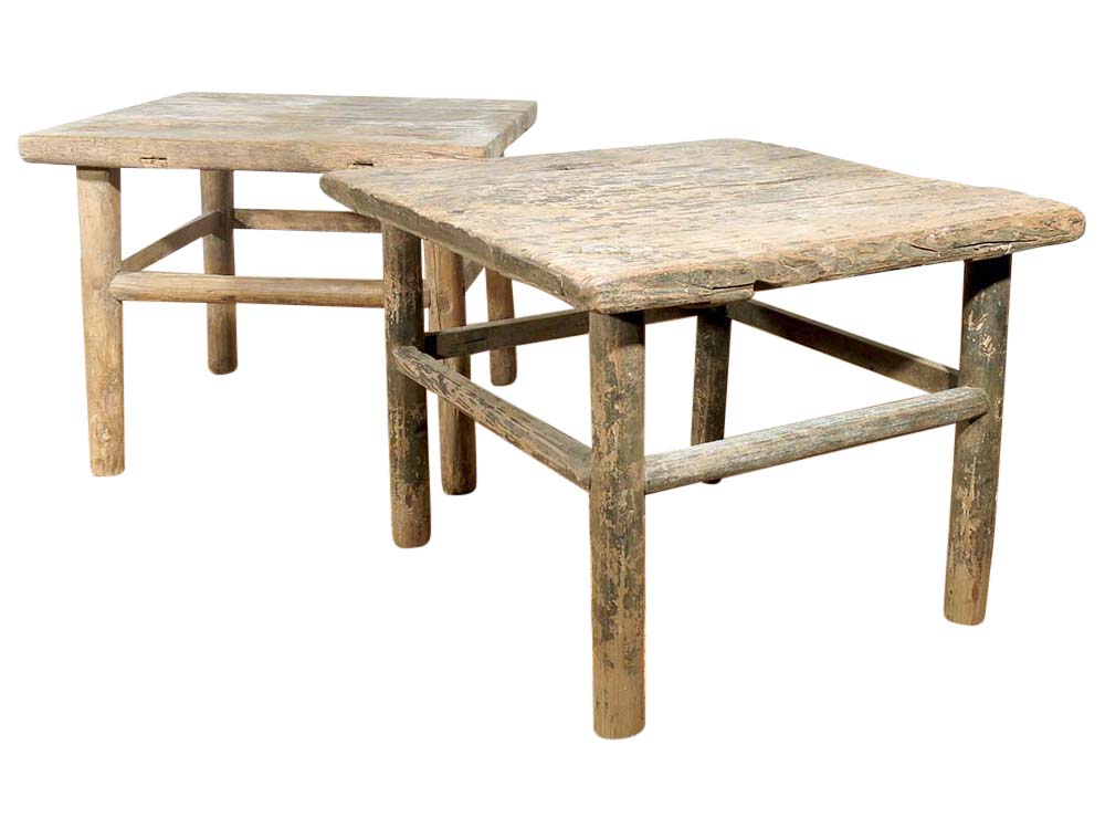 Elm Side Tables for Hire