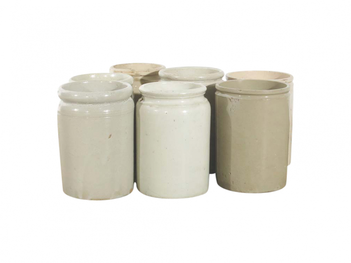 Vintage stoneware jars for Hire