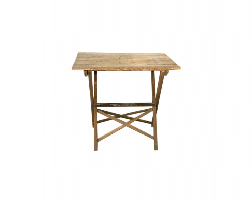 Wooden Table for Hire Devon
