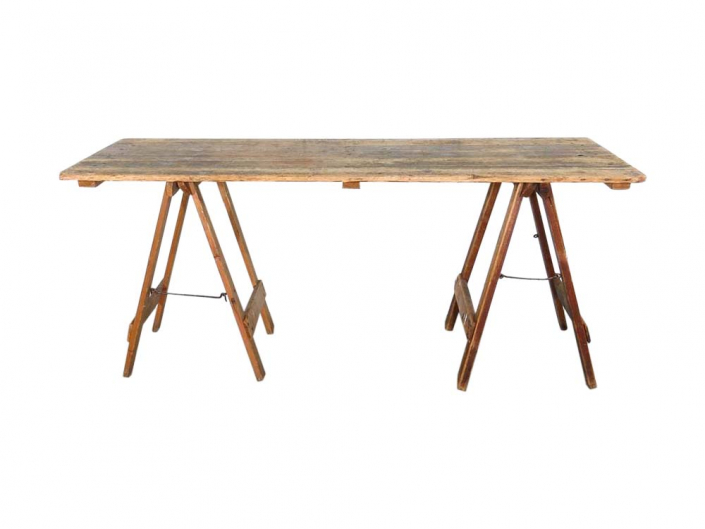 Vintage Trestle Table for Hire