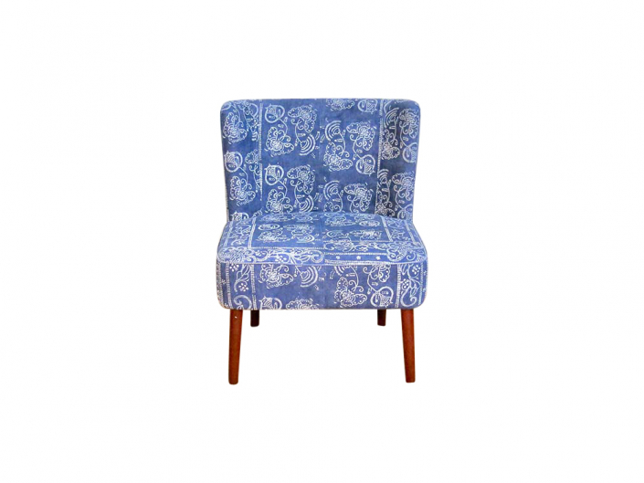 Chinese Indigo Chair for Hire Devon, South West