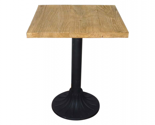 Elm Topped Cafe Table for Hire Devon, South West