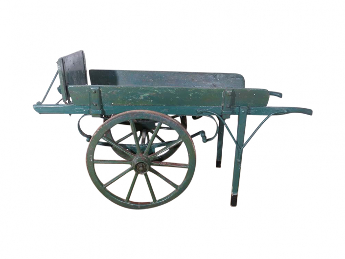 Solid Wood Hand Cart for Hire