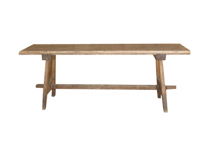 Antique French Trestle Table for Hire